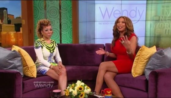 Wendy Williams Talks With Tameka Tiny Harris About Plastic Surgery