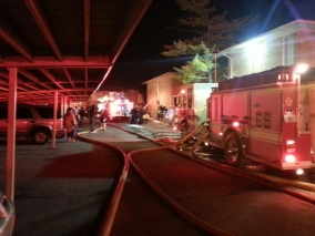 Deadly Apt Fire at 34th & Moller Rd. Pangea Meadows Apts Thursday Morning