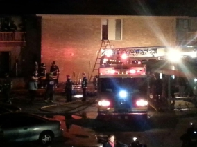 Deadly Apt Fire at 34th & Moller Rd