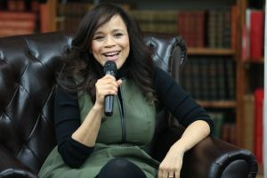 "Rosie Perez Signs Copies Of Her Book ""Handbook For An Unpredictable Life"""