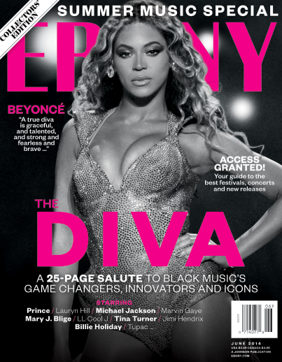 Beyonce Ebony Cover