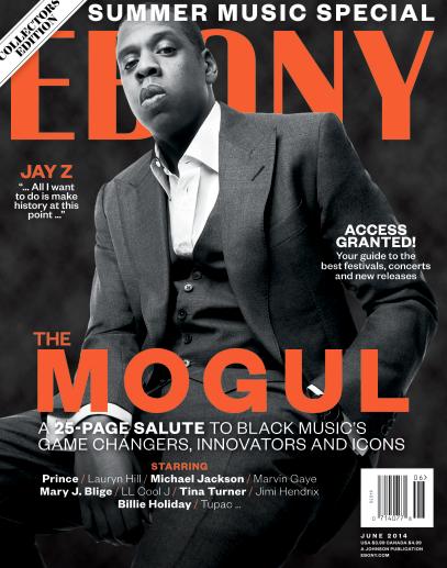 Jay Z Ebony Cover