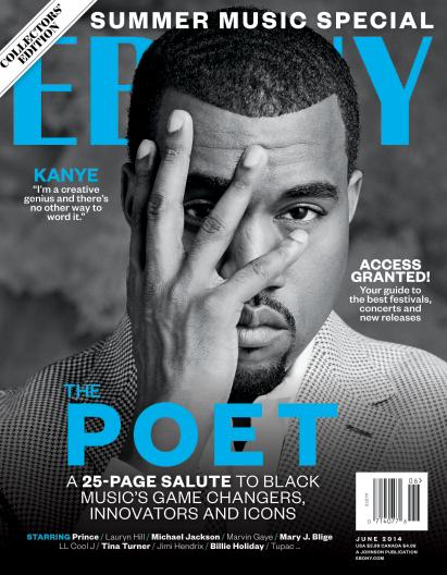 Kanye West Ebony Cover