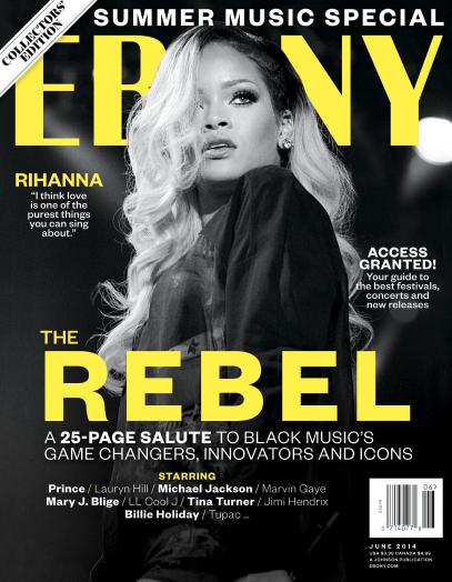 Rihanna Ebony Cover
