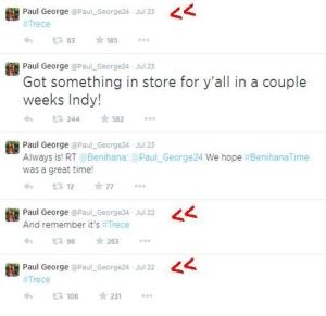 Paul George Tweets July 2014