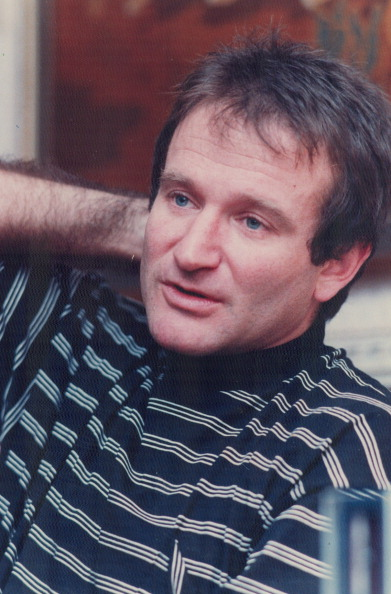 Robin Williams: Did you recognize the pink cheeks and nose?