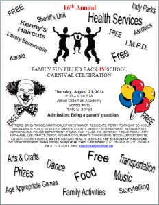 Coleman Academy Carnival 2014