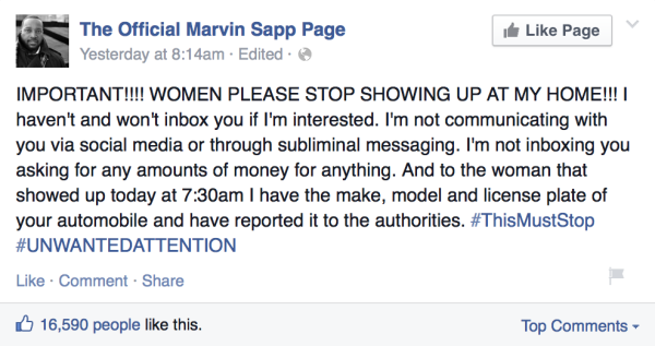 Marvin-Sapp-Facebook-message-to-women-trying-to-show-up-at-his-home-e1411610214285