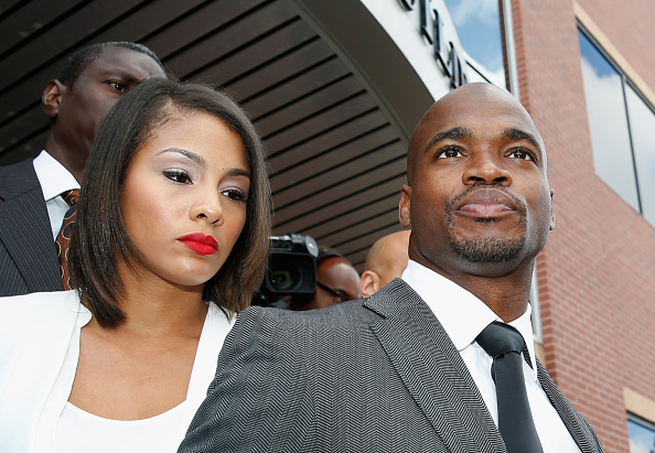 Adrian Peterson Makes First Court Appearance On Child Abuse Charges