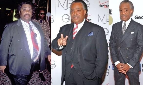 Iulie , Permiteti sa raportez! - Reverend al sharpton pierde în greutate