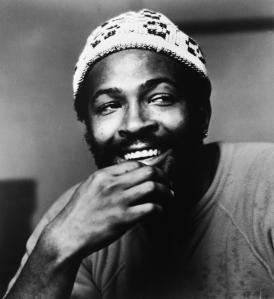 Singer Marvin Gaye In Knit Cap