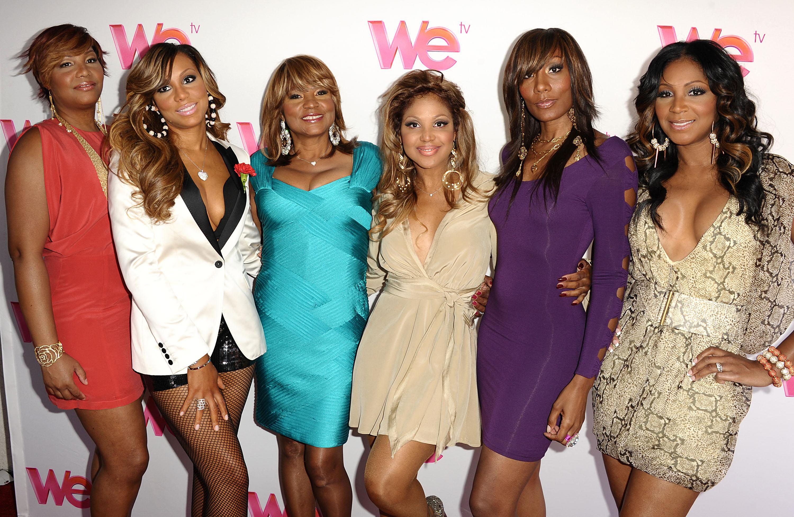 WE TV Series 'Braxton Family Values' - Reunion Special Taping