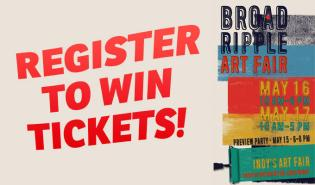 Broadripple Art Fair Giveaway Graphic
