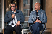 NEW YORK, NY - OCTOBER 10:  Jordan Peele and Keegan-Michael Key speak during AOL's BUILD Series at AOL Studios In New York on October 10, 2014 in New York City.  (Photo by Taylor Hill/Getty Images)