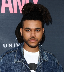 "HOLLYWOOD, CA - JUNE 25:  The Weeknd attends the premiere of ""Amy"" at ArcLight Cinemas on June 25, 2015 in Hollywood, California.  (Photo by Jason LaVeris/FilmMagic)"