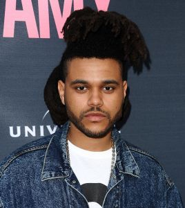 """HOLLYWOOD, CA - JUNE 25:  The Weeknd attends the premiere of """"Amy"""" at ArcLight Cinemas on June 25, 2015 in Hollywood, California.  (Photo by Jason LaVeris/FilmMagic)"""