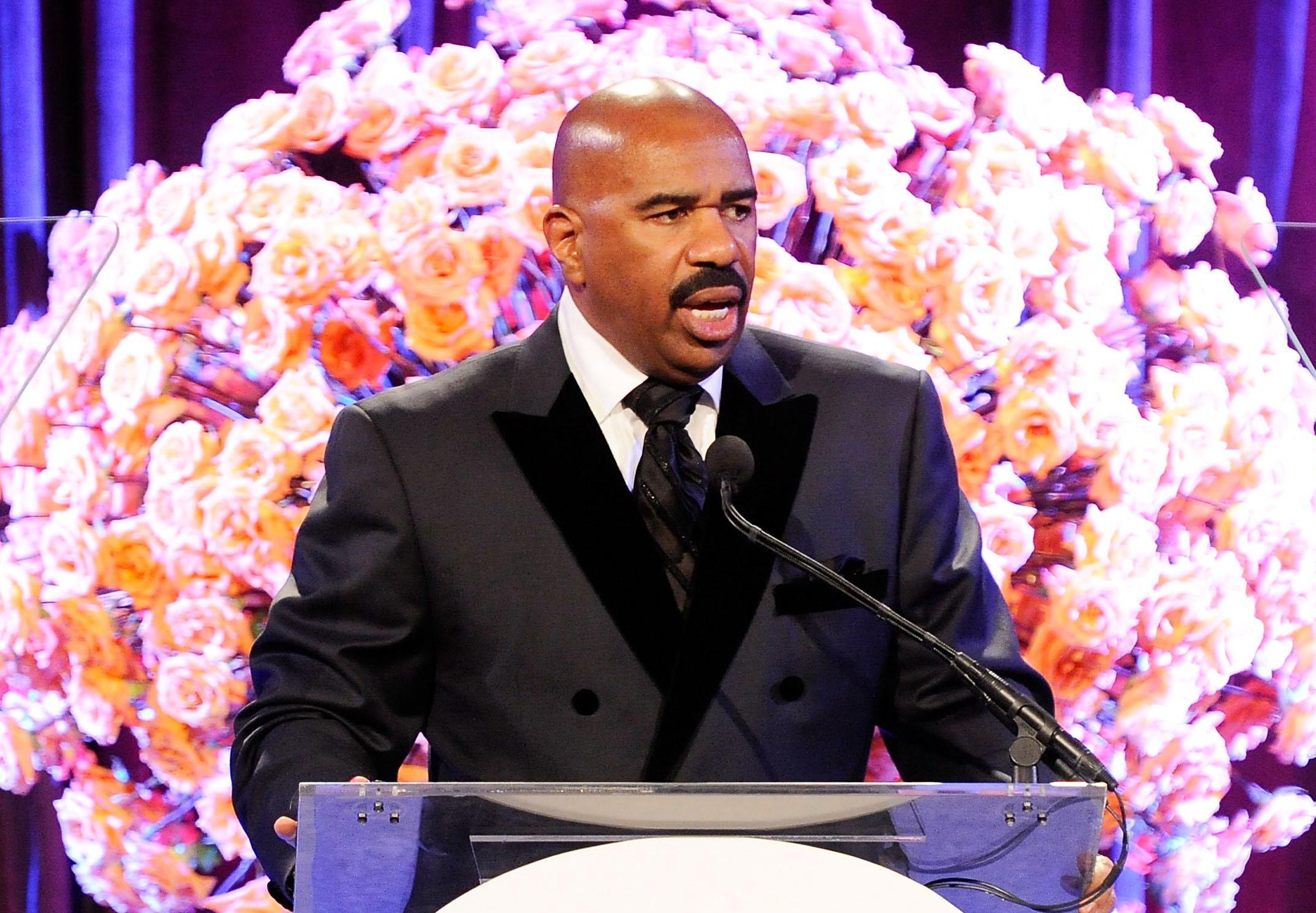 Steve Harvey Hosts 2nd Annual Steve Harvey Foundation Gala In New York - Inside