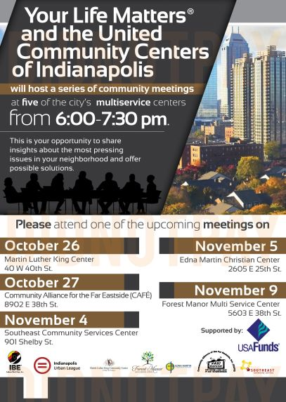 Your Life Matters United Community Centers Indy Mtgs