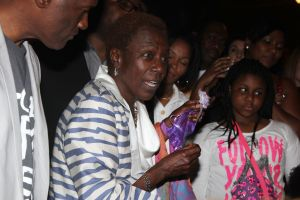 Afeni Shakur Visits 'Holler If Ya Hear Me' On Tupac's 43rd Birthday