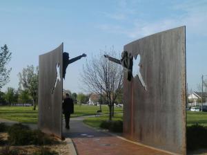 MLK RFK Memorial in King Park Indianapolis