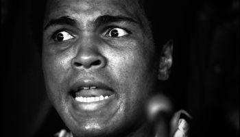 Close-Up Of Muhammad Ali