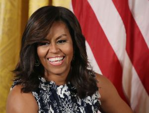 First Lady Michelle Obama Holds Event At White House With College-Bound Students