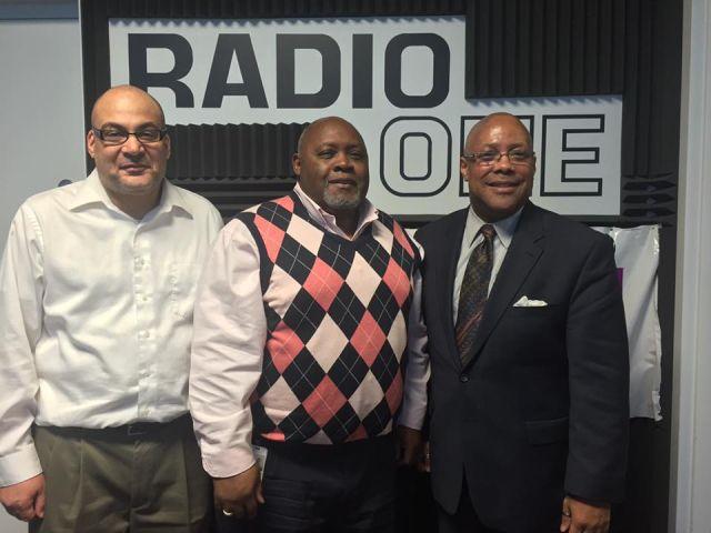 Pastor Michael Jones of Progressive Baptist Church