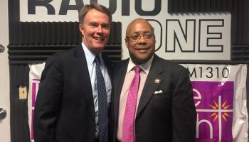 Pastor Michael Jones & Mayor Hogsett