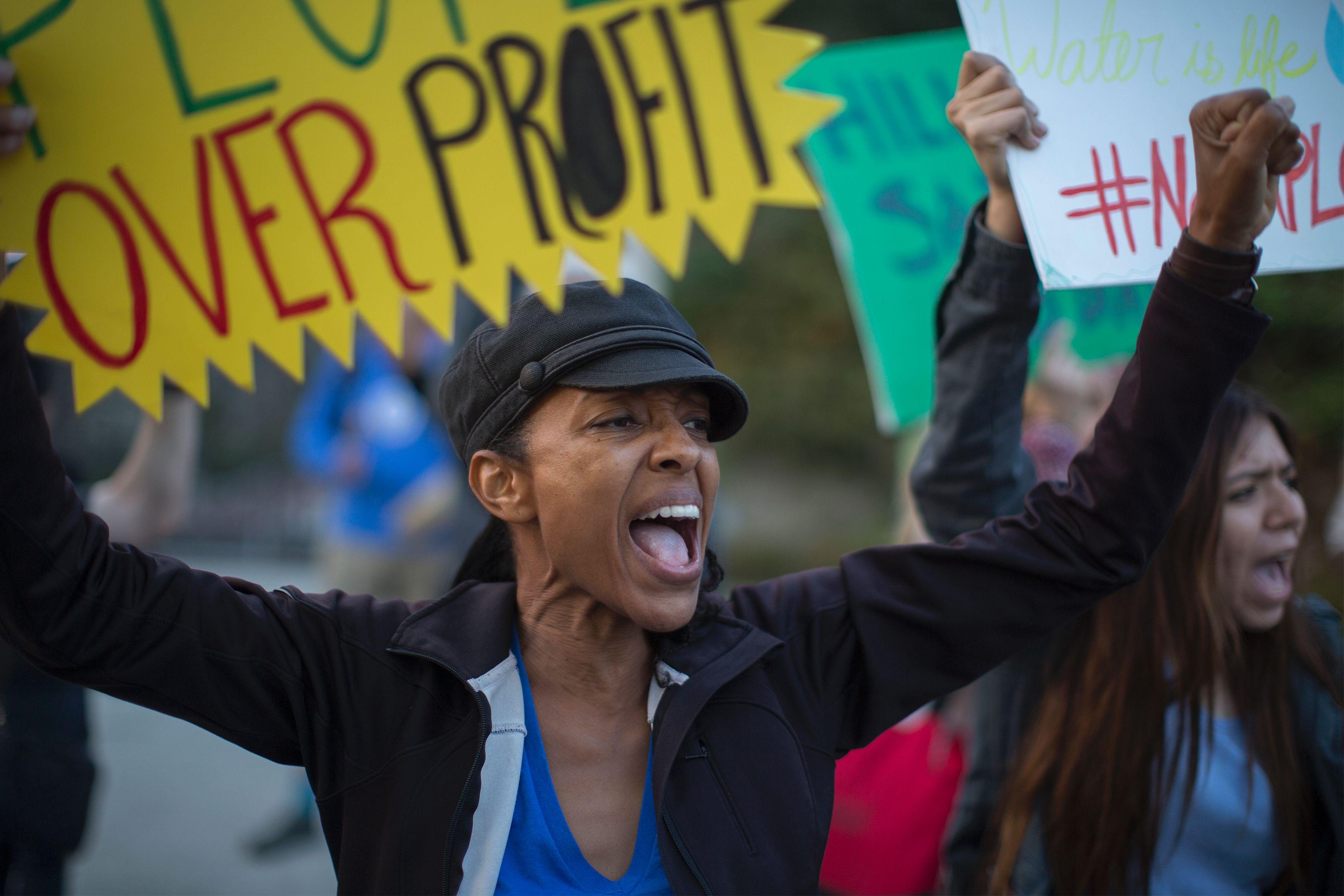 US-POLITICS-ENVIRONMENT-PROTEST
