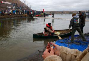 Dakota Access Pipeline Protest At Standing Rock