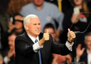Donald Trump And Mike Pence Continue USA Thank You Tour 2016 In Des Moines