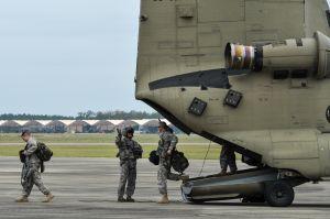 National Guard Responds to Hurricane Matthew