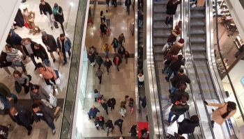Shopping At Westfield During The Christmas Sales