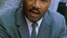 Martin Luther King, Jr. Speaking at News Conference
