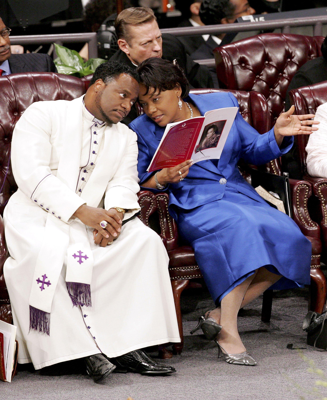 Funeral Held For Coretta Scott King