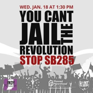 YOU CAN'T STOP THE REVOLUTION STOP HB285