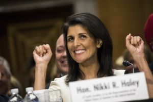 Confirmation Hearing for Trumps Nominee for Representative to the UN, Gov. Nikki Haley