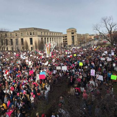 Indianapolis' Women's March 012117 Credit Brian Weiss // NUVO