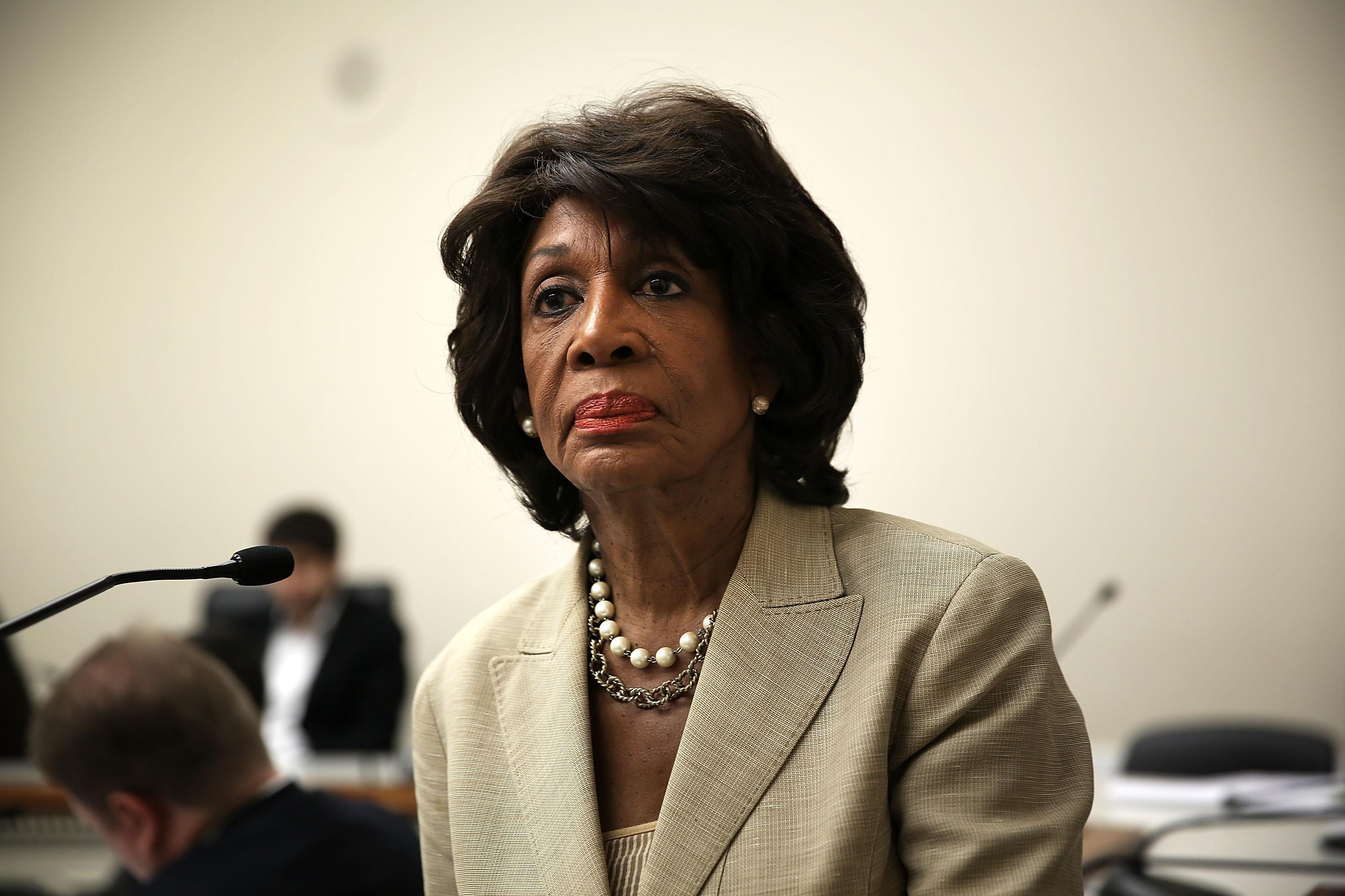 Maxine Waters Leads Discussion On Housing Finance Reform