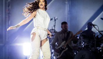 Rihanna's concert at San Siro Stadium