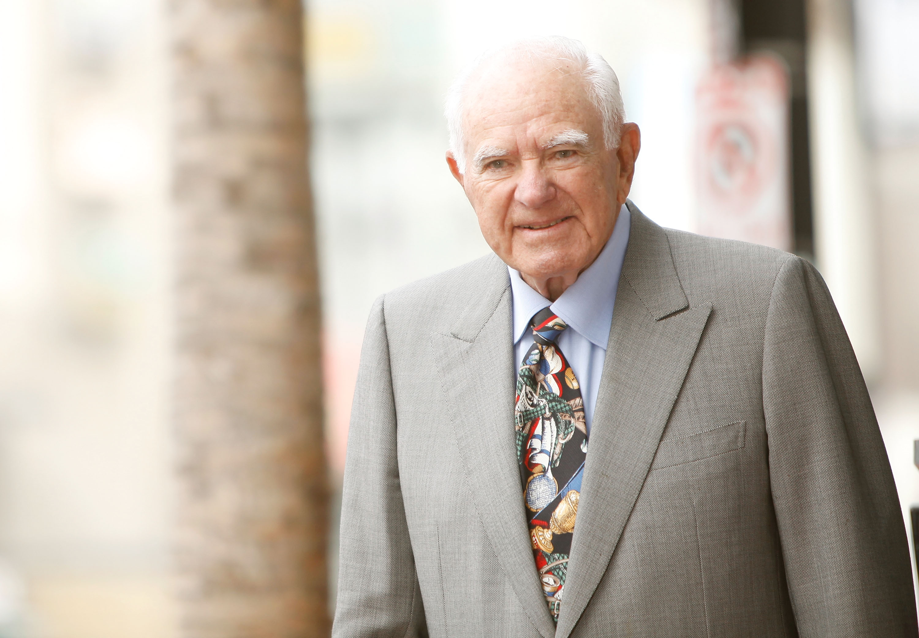 Judge Joseph A. Wapner Celebrates 90th Birthday With Star On Hollywood Walk