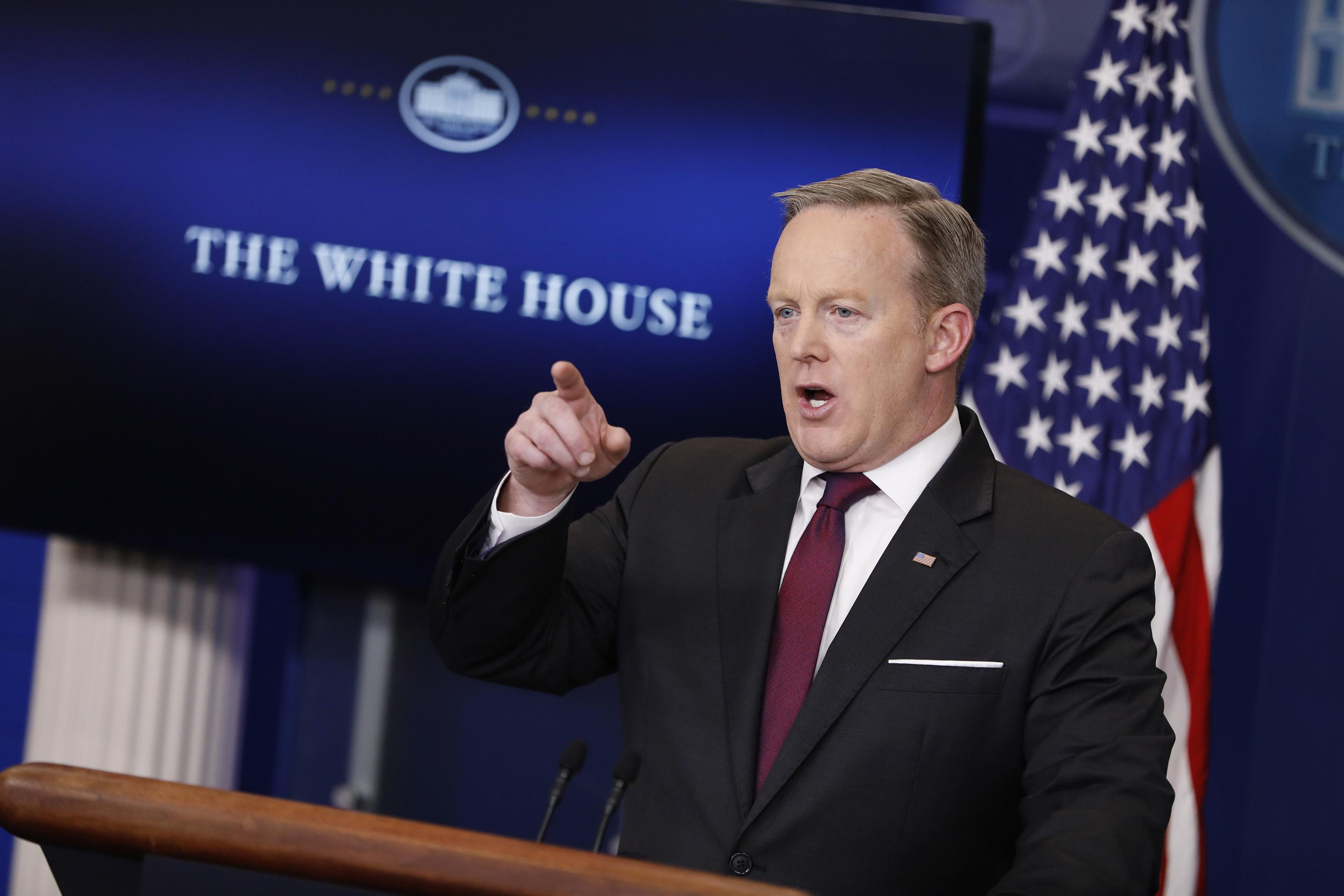Press Secretary Sean Spicer Holds Daily Press Briefing