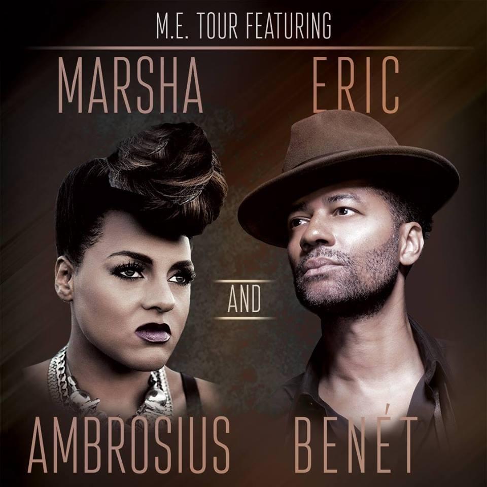 Marsha Ambrosius and Eric Benet Flyer - Indy