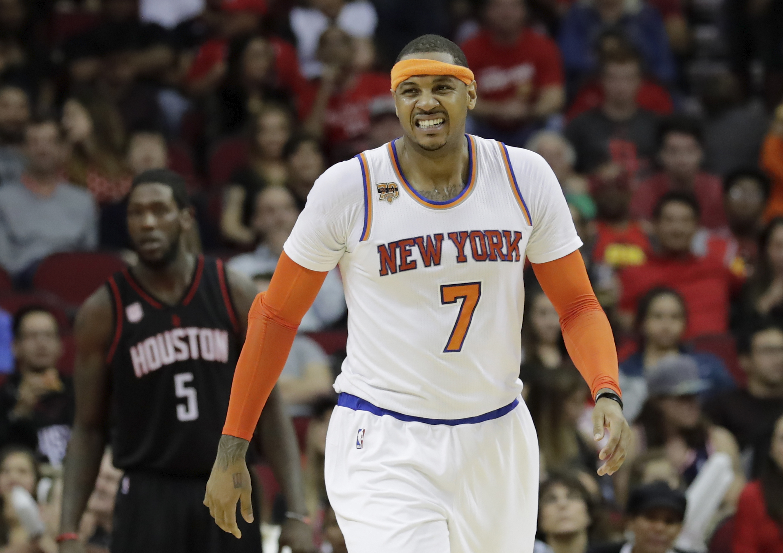 New York Knicks v Houston Rockets