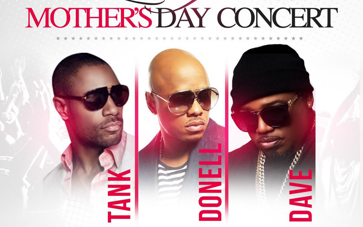 Lovefest: Mothers Day Concert with Tank, Donell Jones & Dave Hollister