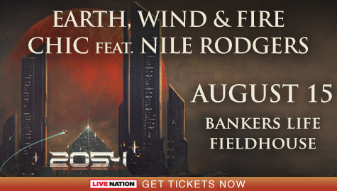 Earth, Wind & Fire Flyer