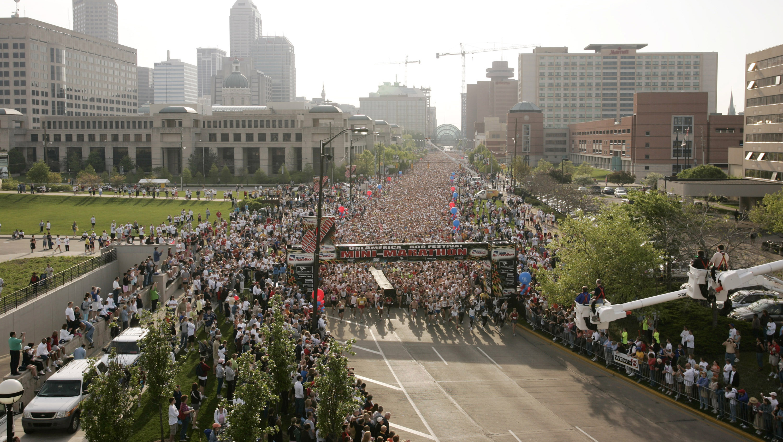 Indianapolis Mini-Marathon - May 7, 2005