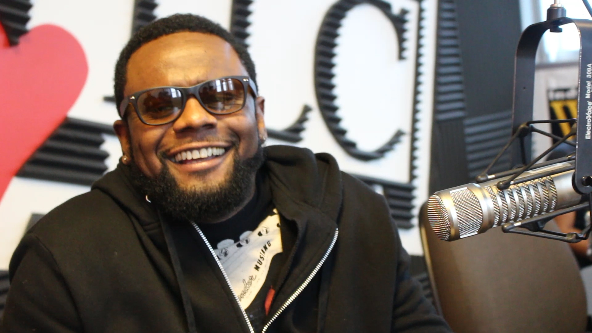 Carl Thomas Interview - WTLC 106.7