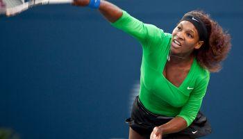 Serena Williams of the United States ser