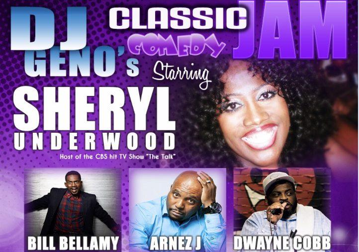 DJ Geno'sClassic Comedy Jam Flyer